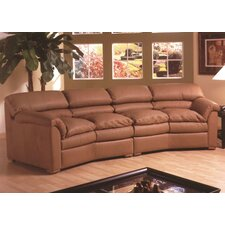 Canyon Leather Living Room Collection