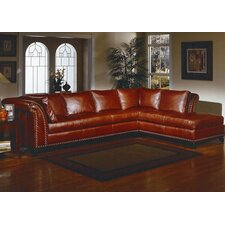 <strong>Omnia Furniture</strong> Kingsley Leather Sectional