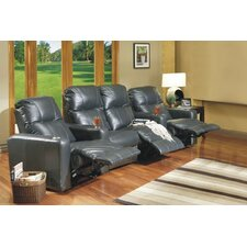 <strong>Omnia Furniture</strong> Portland Home Theater Seating (Row of 4)