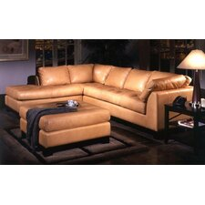 <strong>Omnia Furniture</strong> Espasio Leather Sectional