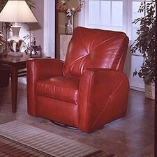 <strong>Omnia Furniture</strong> Bahama Leather Recliner