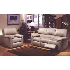 <strong>Omnia Furniture</strong> Vercelli Reclining Leather Living Room Set