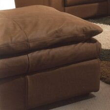 Oregon Jumbo Leather Ottoman