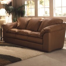 <strong>Omnia Furniture</strong> Oregon Leather Sofa