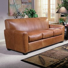 <strong>Omnia Furniture</strong> Jackson Leather Sofa