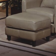 <strong>Omnia Furniture</strong> Skyline Leather Ottoman