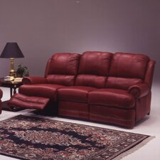 Morgan Leather Loveseat