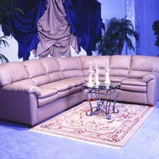 <strong>Omnia Furniture</strong> Vegas Leather Sectional