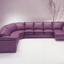 <strong>Omnia Furniture</strong> Tribeca Loft Leather Sectional