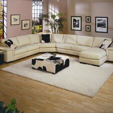 <strong>Omnia Furniture</strong> Mercedes Leather Sectional