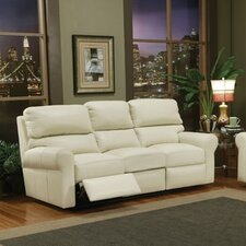 Brookfield Leather Reclining Loveseat