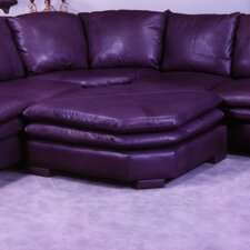 <strong>Omnia Furniture</strong> Fargo Leather Ottoman