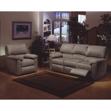 <strong>Omnia Furniture</strong> Vercelli Leather Living Room Set