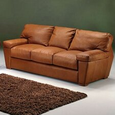 Prescott Leather Sleeper Sofa