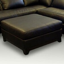 <strong>Omnia Furniture</strong> Villa Leather Cocktail Ottoman