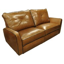 <strong>Omnia Furniture</strong> Bahama Leather Reclining Loveseat