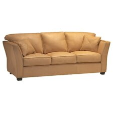 <strong>Omnia Furniture</strong> Manhattan Leather Sofa