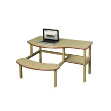 <strong>Wild Zoo</strong> Pre-School Buddy Computer Desk