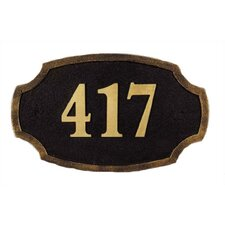 Colonial Address Plaque