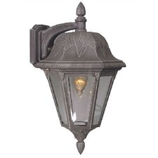 Floral Small Top Mount Outdoor Wall Lantern