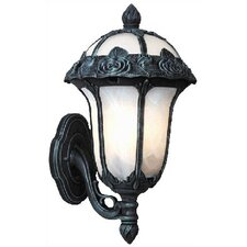Rose Garden Bottom Mount Wall Lantern