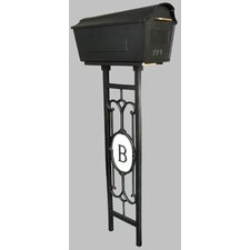 Town Square Post Mounted Mailbox