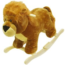 <strong>Happy Trails</strong> Lion Plush Rocking Animal