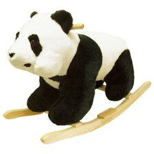 <strong>Happy Trails</strong> Panda Plush Rocking Animal