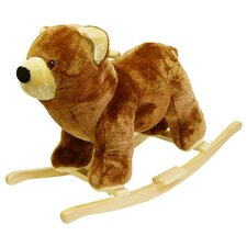 <strong>Happy Trails</strong> Bear Plush Rocking Animal