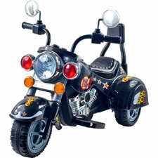 Wild Child Motorcycle in Black with Three Wheeler