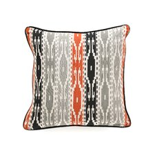 African Mod Siliana Print Stripes Pillow