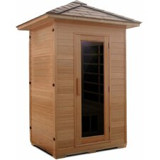 Outdoor Series 2 Person Carbon FAR Infrared Sauna
