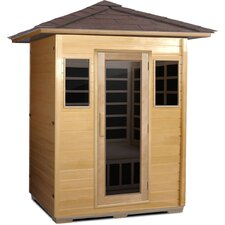 Outdoor Series 3 Person Carbon FAR Infrared Sauna