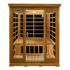 Luxury Series 3 Person Luxury Carbon FAR Infrared Sauna