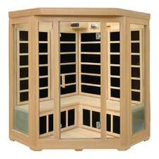 Basic Series 3-4 Person Corner Carbon FAR Infrared Sauna