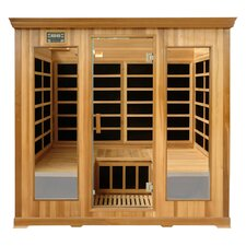 Luxury Series 4 Person Carbon FAR Infrared Sauna