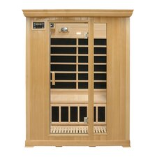 <strong>Crystal Sauna</strong> Family Series 3 Person Carbon FAR Infrared Sauna