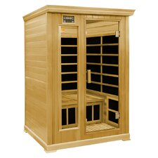 2-Person Luxury Infrared Sauna