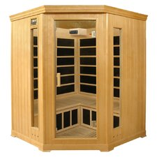 3-4 Person Corner Luxury Infrared Sauna