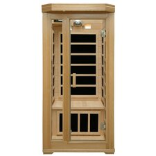 <strong>Crystal Sauna</strong> Basic Series 1 Person Carbon FAR Infrared Sauna