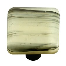 "<strong>Hot Knobs</strong> Swirl 1.5"" Square Knob"