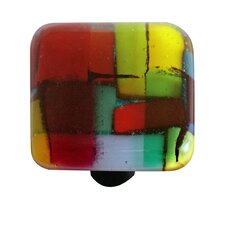 "<strong>Hot Knobs</strong> Artist Mosaic 1.5"" Square Knob"