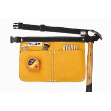 <strong>Born Tough</strong> Heavy Duty Leather Traditional Nail and Tool Bag