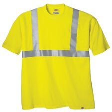 Large High Visibility ANSI Class 2 T-Shirt in Yellow