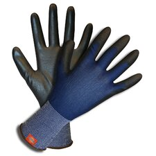 Polyester Gloves with Polyurethane Palm Coating