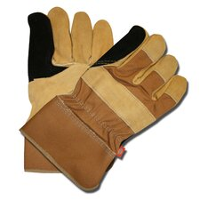 Cowhide Double Leather Palm Gloves