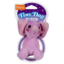 <strong>Hartz</strong> Jungle Plush Tiny Dog Toy (Assorted Style)