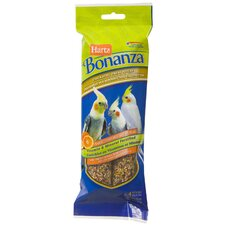 Bonanza Cockatiel Treat Stick for Bird (4 Count)