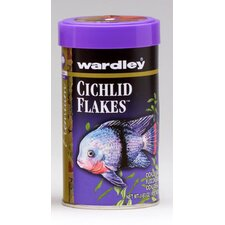 Flakes Cichlid Fish Food - 1.88 oz.