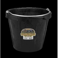 Pail with Pouring Lip in Black - 18 Quart